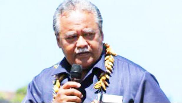 Governor's Chief of Staff, Fiu J. Saelua