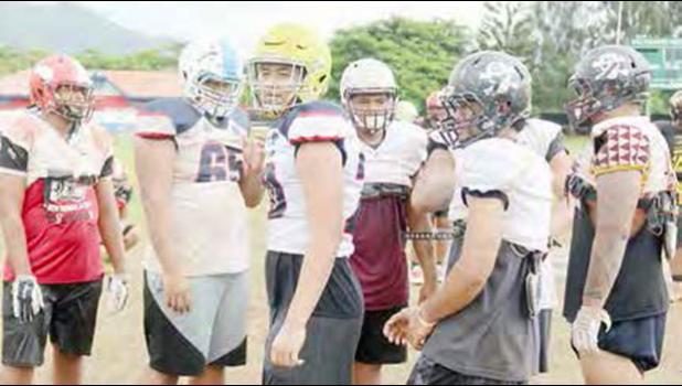 American Samoa All-Star Offensive squad