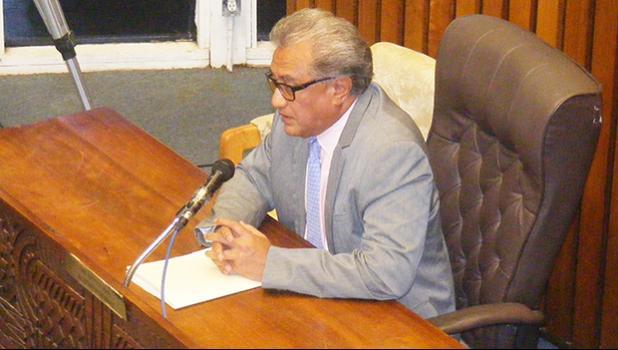 DOC director Keniseli Lafaele