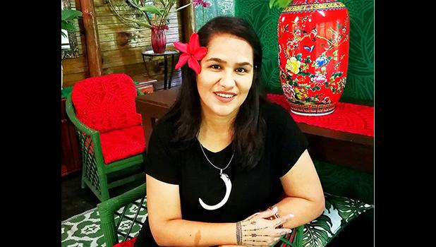 Samoan author Lani Wendt Young