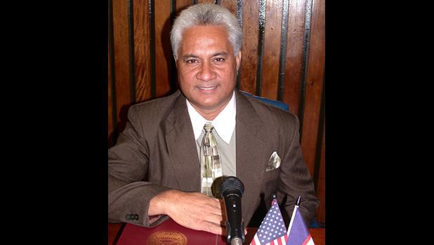 Tualauta District #15 Representative-elect Larry Sanitoa