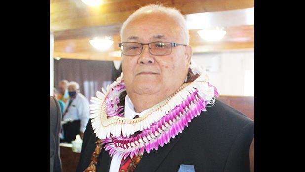 Traditional leader, Lefiti Falelaulii Pese