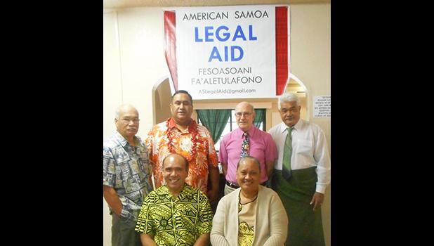 American Samoa Legal Aid staff