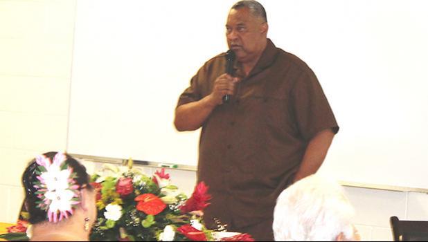 Lt. Gov. Lemanu Sialega Palepoi Mauga,