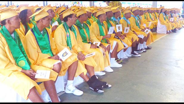 A look at some of the 140 graduates of Leone High School class of 2018