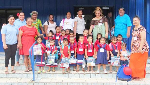 Leone Midkiff ECE students and teachers