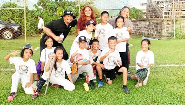 One of the many Little League teams