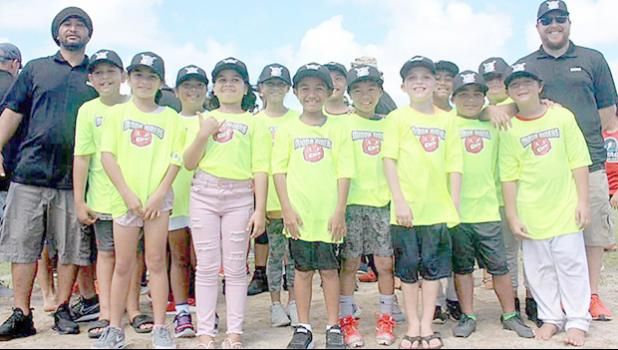 One of the Little League teams