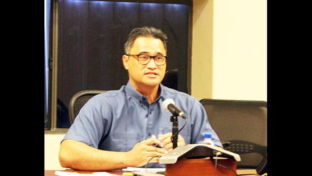 Lt. Gov. Talauega Eleasalo Ale