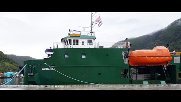 The Manu'atele ferry