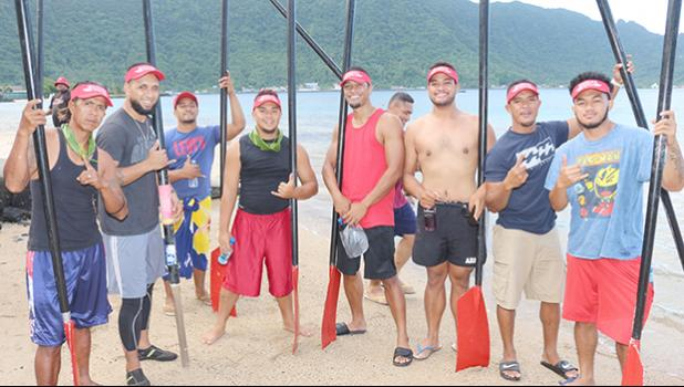 Manulele Tausala crew,Nuuuli Village
