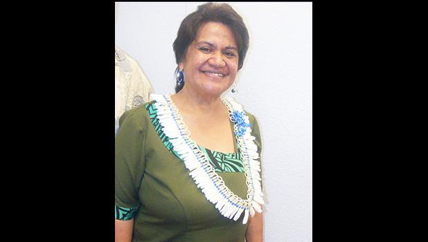 DOE director, Dr. Ruth Matagi-Tofiga