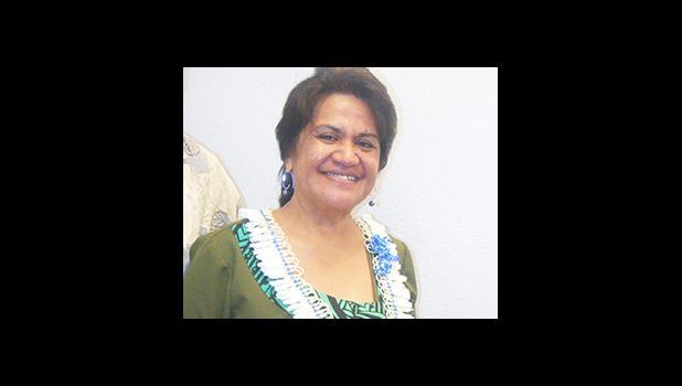 ASDOE director Dr. Ruth Matagi-Tofiga