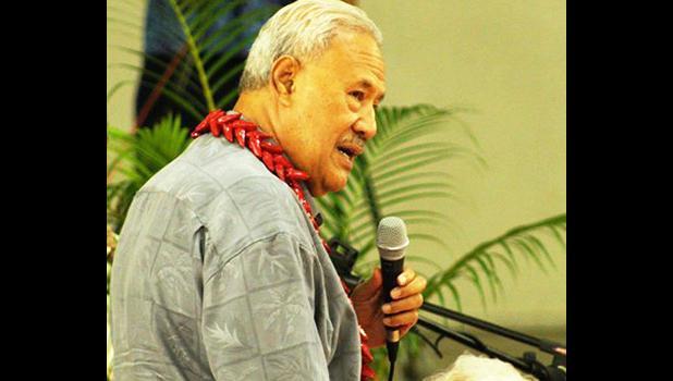 Secretary of Samoa Affairs Mauga Tasi Asuega