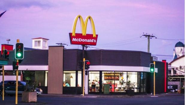 McDonald's location in Apia, Samoa.