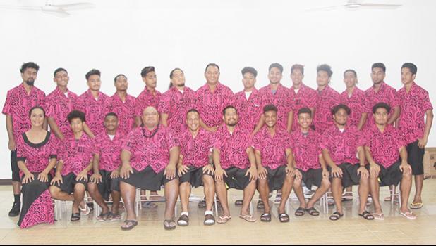 The American Samoa Men's National Team.