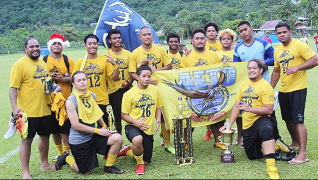 The Pago Youth men's team