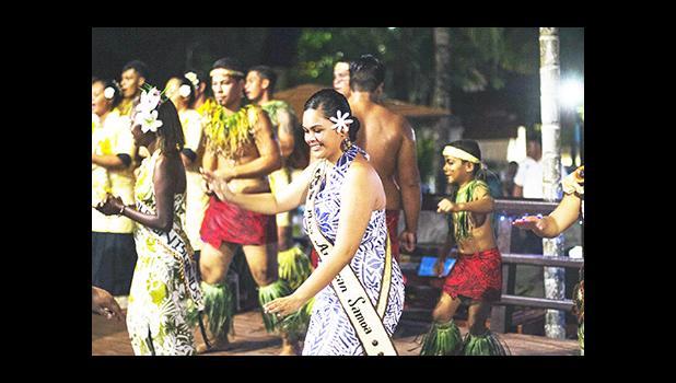 Miss American Samoa - Matauaina Gwendolyn To'omalatai [courtesy photo]