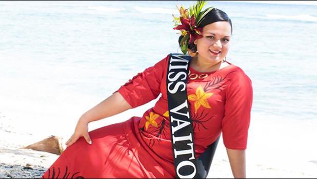 Miss American Samoa 2018-19 Magalita Philomena Johnson