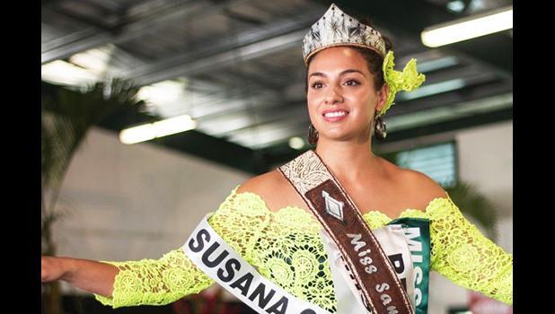 Miss Samoa Sonia Piva