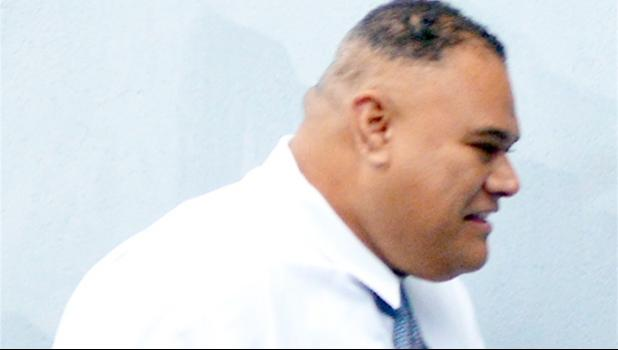 Former police officer Mosese Lomu