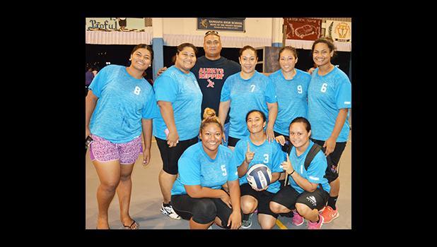 2016 Mosooi International Volleyball Championship — Women's Division champion, local BTI volleyball team. [photo AF]