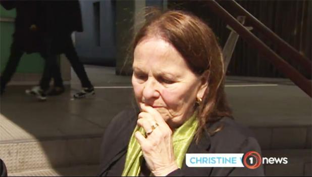 Mr Dalton's mother Christine Wilson