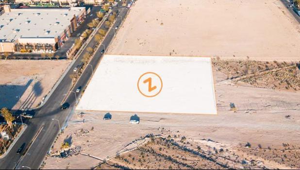 Site of new Zippy's in Las Vegas