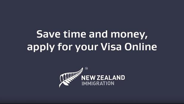 graphic saying apply for NZ visas online