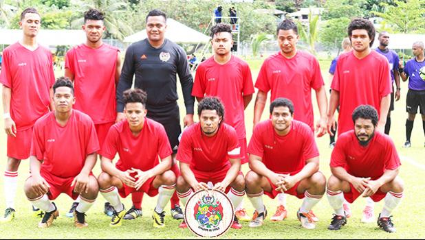 Team Veitongo FC — Tonga. [photo: TG]