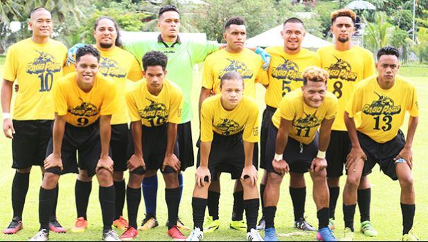 The Pago Youth team — American Samoa  [photo: TG]
