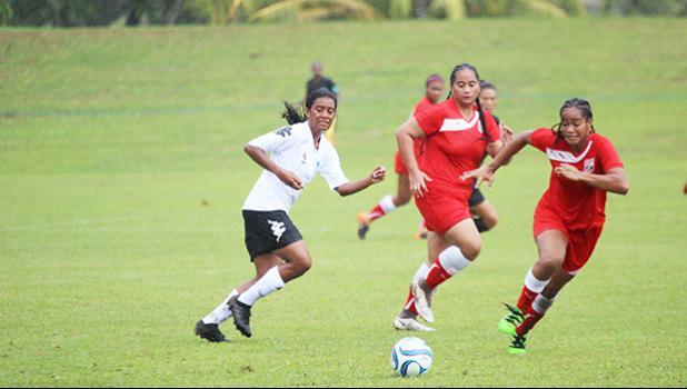 Olivia Vaiomounga of American Samoa defends