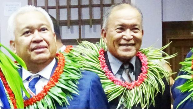 Gerald Zackios and David Kabua