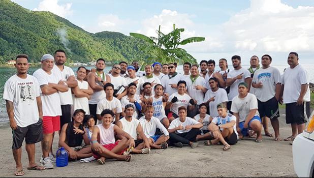 Aua's Paepaeulupoo fautasi crew