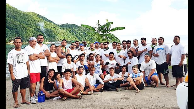 Paepaeulupoo crew 2019 from Aua village