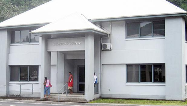 photo of District Court Building in American Samoa