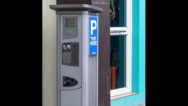 One of the parking meters already installed in Apia