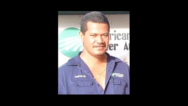 One of ASPA's linemen, who passed away recently from cancer — Salā Gafoaoleata Malae. [Courtesy photo]