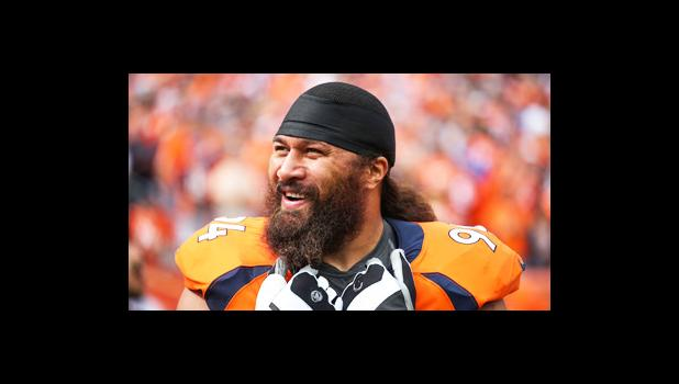 Denver Broncos' Veteran nose tackle Domata Peko Sr. [photo: DenverBroncos.com