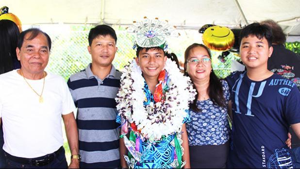Addyelle Kein Dizon and family
