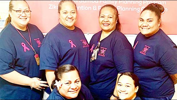 Personnel at the LBJTMC Family Planning and OBGYN Clinic