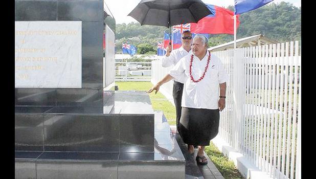 Samoa Prime Minister Tuilaepa Lupesoliai Sailele Malielegaoi