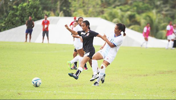 Precious Ieremia of American Samoa Women's National Team