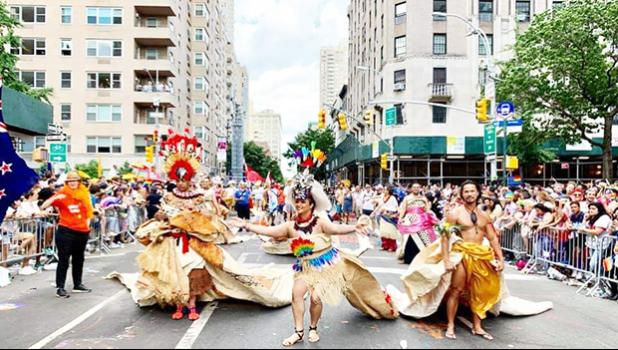 Princess Auva'a at WORLD PRIDE 2019