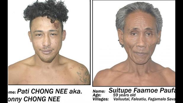 Pati Chong Nee and Suitupe Fa'amoe Paufa'i