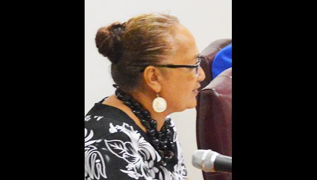 Representative from Fofo, Andra Samoa