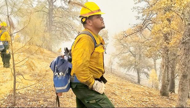 firefighter Ronald Ameperosa