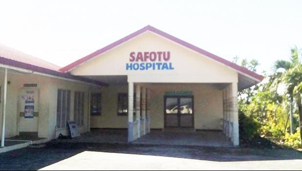 Safotu Hospital in Samoa.