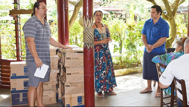 DEVELOPING LITERACY RATE: The Rotary Club of Apia donated 600 reading books for the Samoa Returnees Charitable Trust of Samoa to assist in their literacy program. [Samoa Observer]