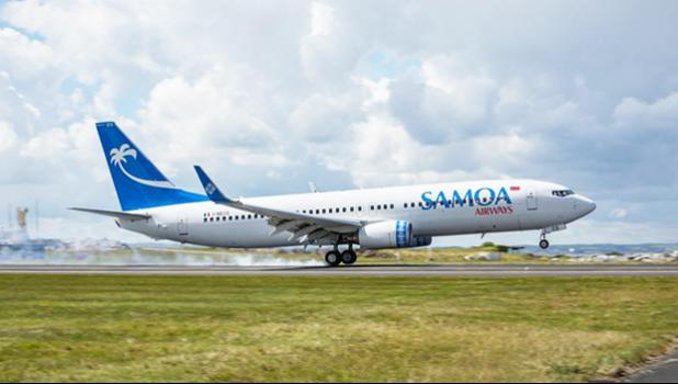 Samoa Airways jet